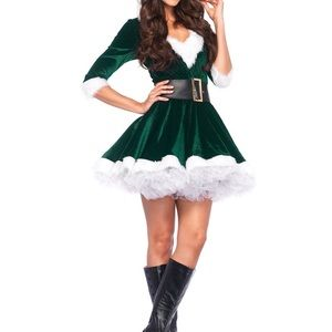 Leg avenue 2pc Mrs. Claus costume